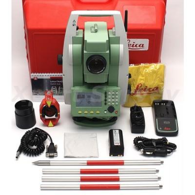 Hướng dẫn cài đặt máy toàn đạc điện tử Leica