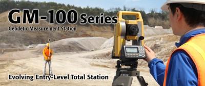 Tìm hiểu thêm về máy toàn đạc điện tử Topcon GM-100 series