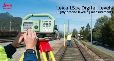 Máy thuỷ bình kỹ thuật số Leica LS10 và LS15