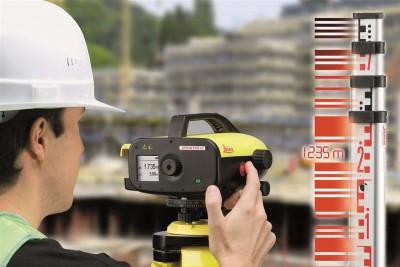 Những lỗi thường gặp ở máy thuỷ bình điện tử Leica Sprinter 50m/100m/150m