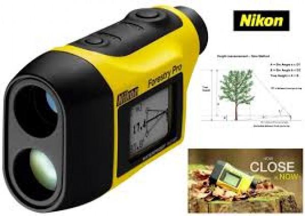 Ống nhòm đo khoảng cách Nikon laser Forestry pro