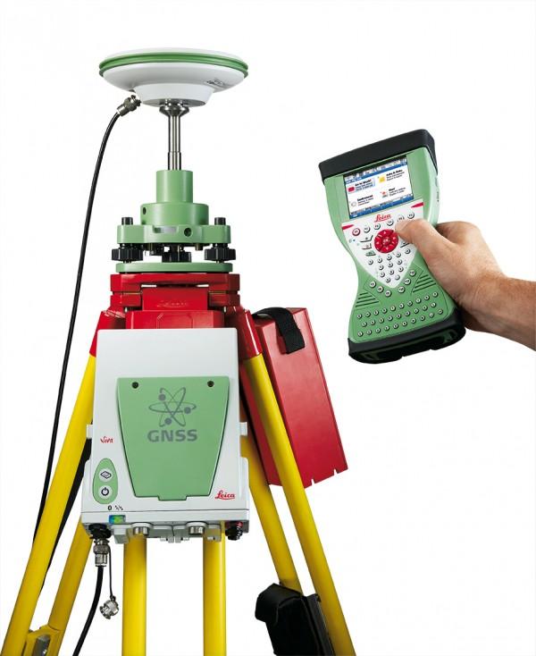 Máy định vị GPS 2 tần số RTK Leica GS08 Plus