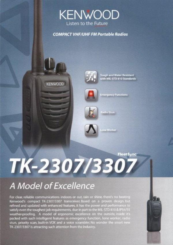 Máy bộ đàm Kenwood TK- 3307