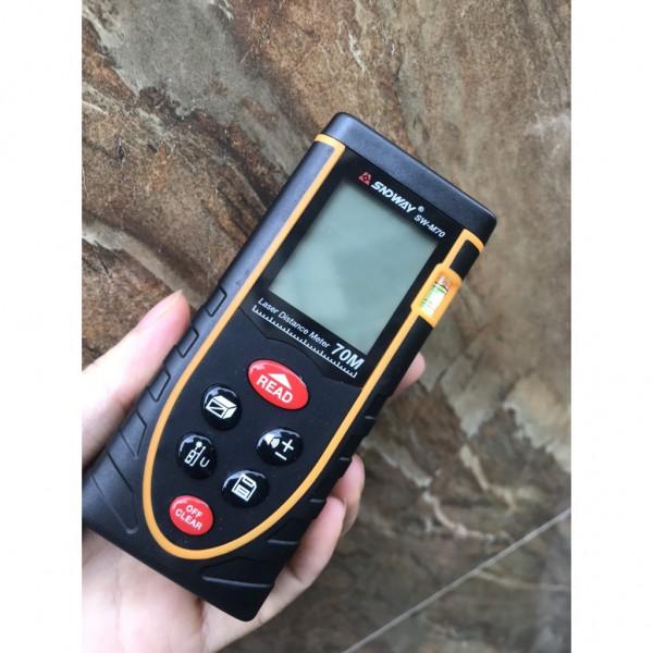 Thước đo khoảng cách laser SNDWAY SW-M50 (M70, M100, M120)