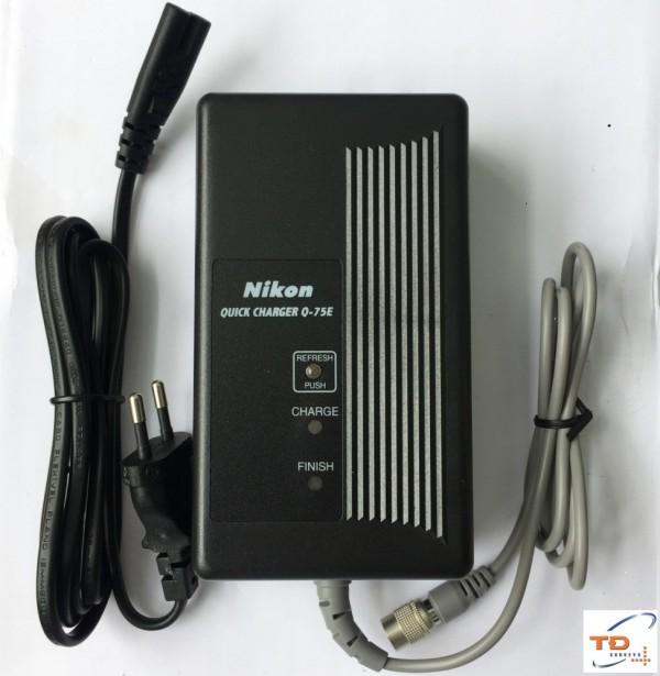 Sạc pin cho máy toàn đạc Nikon Q-75E, Q-70E