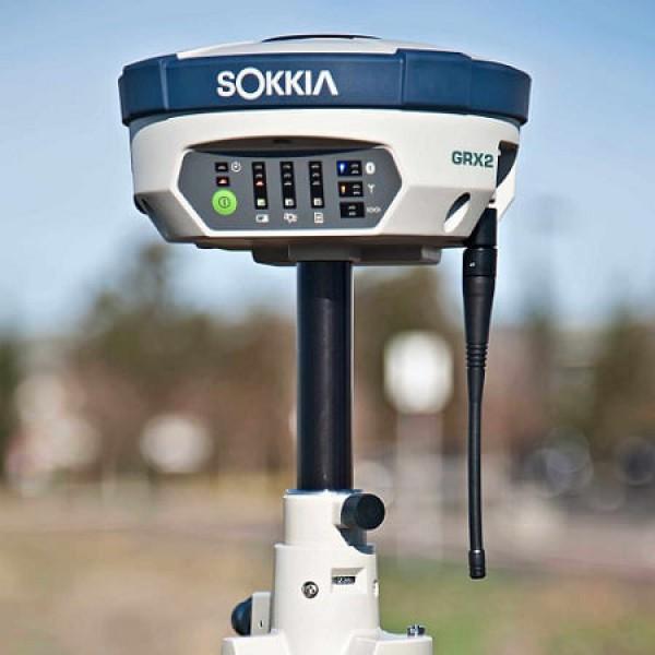 Máy định vị vệ tinh GPS RTK GNSS 02 tần số SOKKIA GRX2